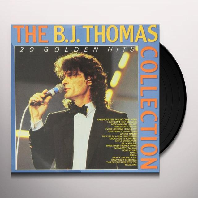 B.J. Thomas 20 GOLDEN HITS Vinyl Record