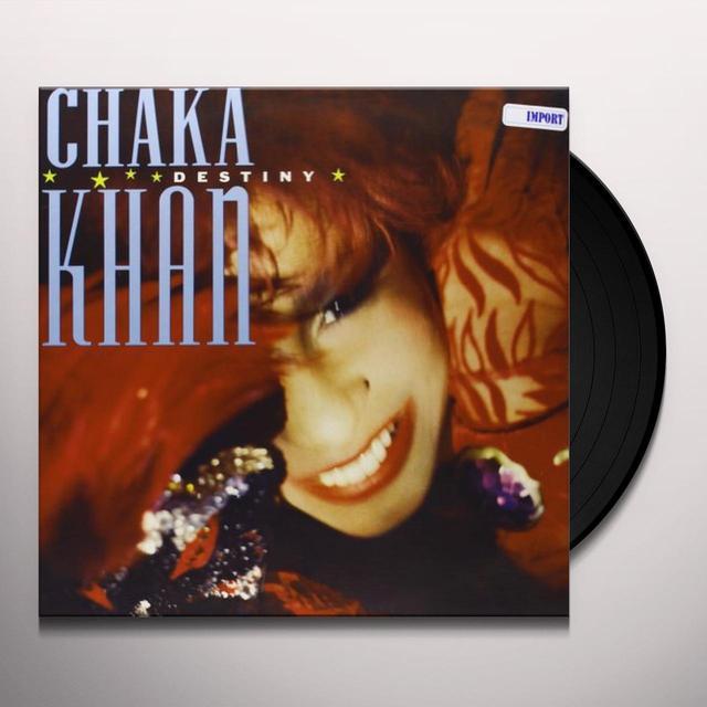 Chaka Khan DESTINY Vinyl Record