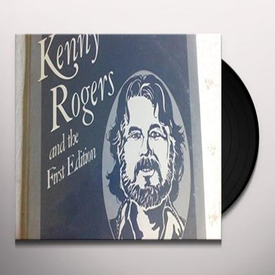Kenny Rogers & The First Edition PIECES OF CALICO SILVER Vinyl Record