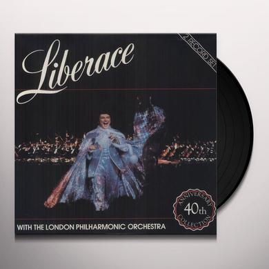 Liberace & London Philharmonic 40TH ANNIVERSARY Vinyl Record