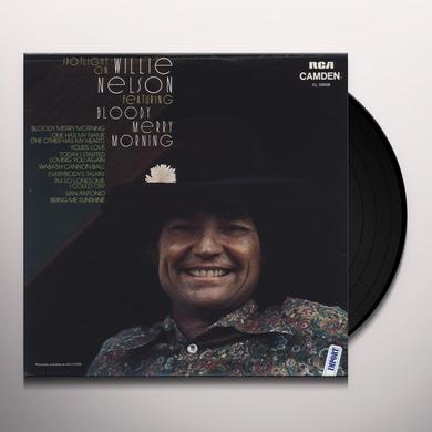 SPOTLIGHT ON WILLIE NELSON (BLODDY MARY MORNING) Vinyl Record