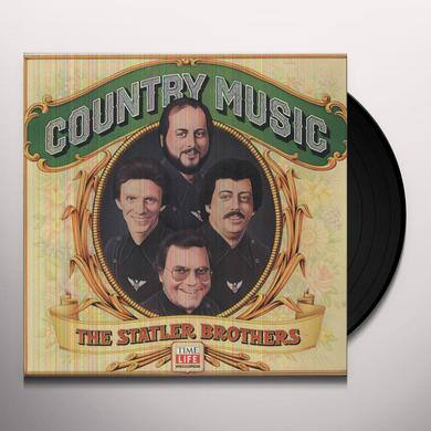 Statler Brothers COUNTRY MUSIC (FLOWERS ON THE WALL) Vinyl Record