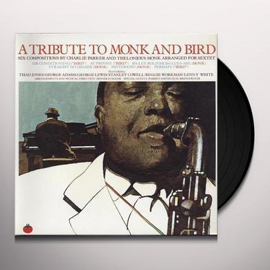 Jones / Cowell / Adams TRIBUTE TO BIRD & MONK Vinyl Record