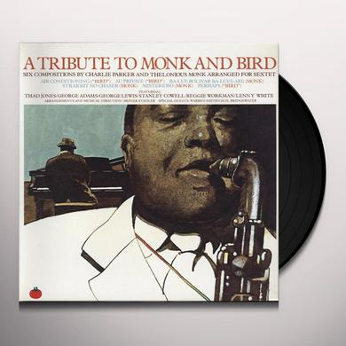 Jones / Cowell / Adams TRIBUTE TO BIRD & MONK Vinyl Record