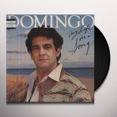 Placido Domingo MY LIFE FOR A SONG Vinyl Record
