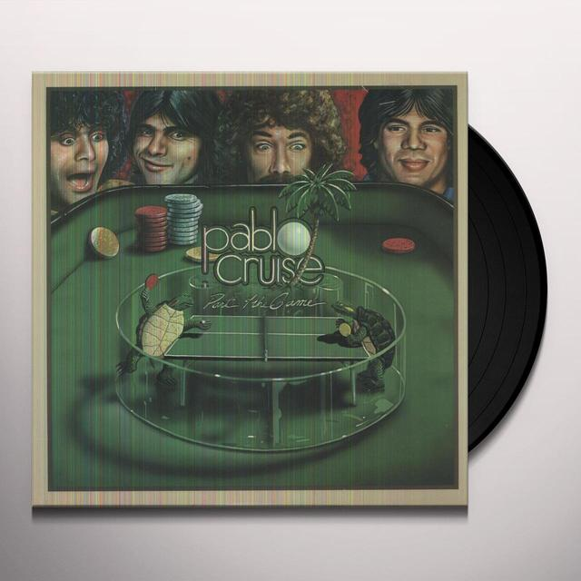 Pablo Cruise PART OF THE GAME Vinyl Record