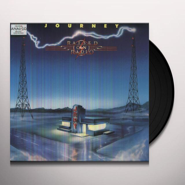 Journey RAISED ON RADIO Vinyl Record