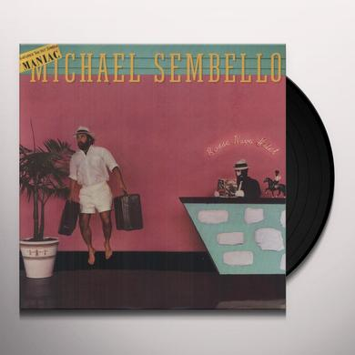Michael Sembello BOSSA NOVA HOTEL Vinyl Record