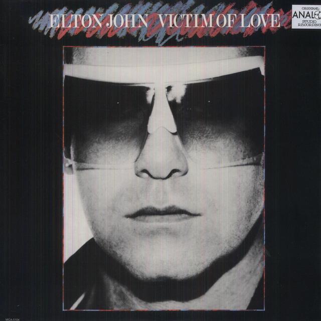 Elton John VICTIM OF LOVE Vinyl Record