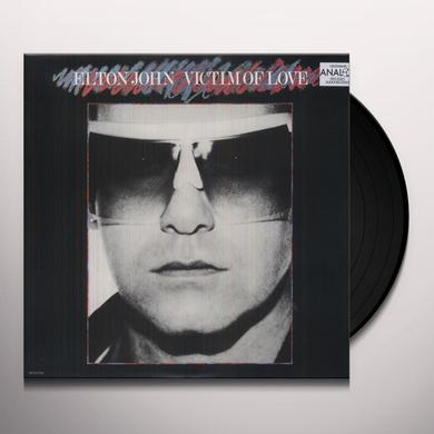 Elton John VICTIM OF LOVE Vinyl Record