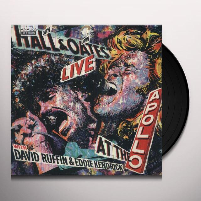 Hall & Oates LIVE AT THE APOLLO Vinyl Record