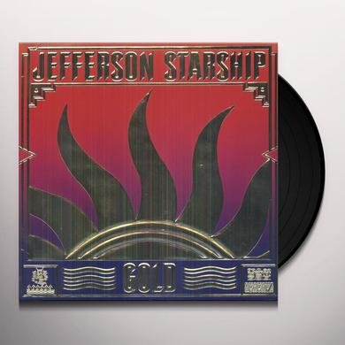 Jefferson Starship GOLD Vinyl Record