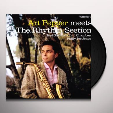 Art Pepper MEETS THE RHYTHM SECTION Vinyl Record