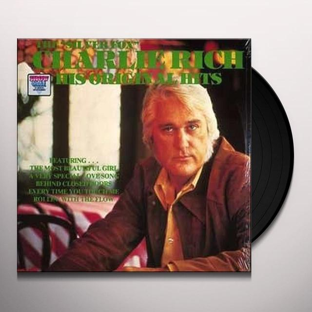 Charlie Rich HIS ORIGINAL HITS Vinyl Record