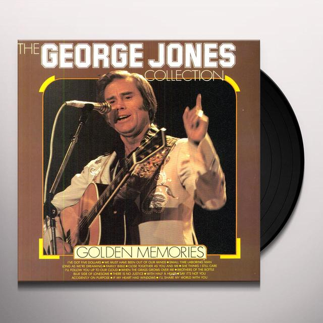 George Jones GOLDEN MEMORIES Vinyl Record