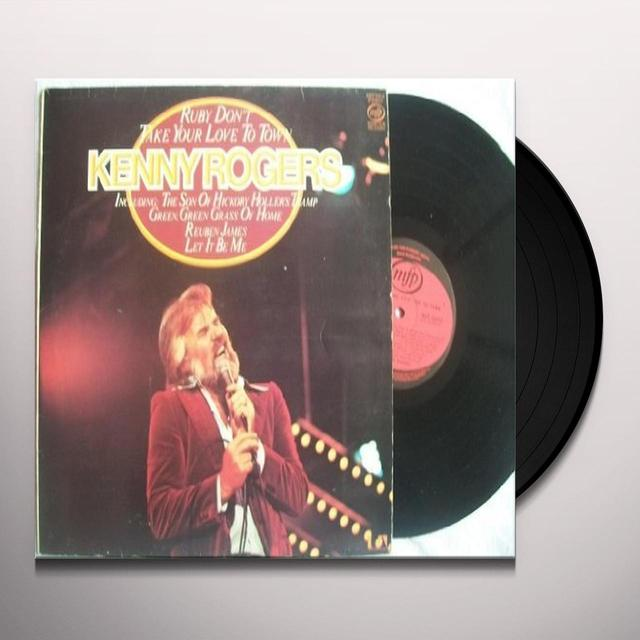 Kenny Rogers RUBY DON'T TAKE YOUR LOVE TO TOWN Vinyl Record