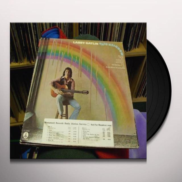 Larry Gatlin RAIN RAINBOW Vinyl Record