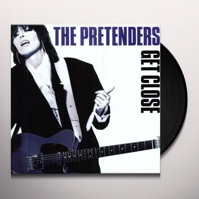 Pretenders GET CLOSE Vinyl Record