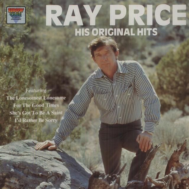 Ray Price HIS ORIGINAL HITS Vinyl Record