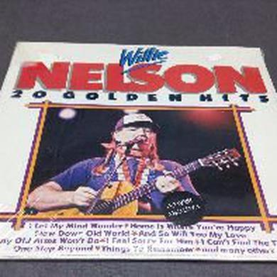 Willie Nelson 20 GOLDEN HITS Vinyl Record
