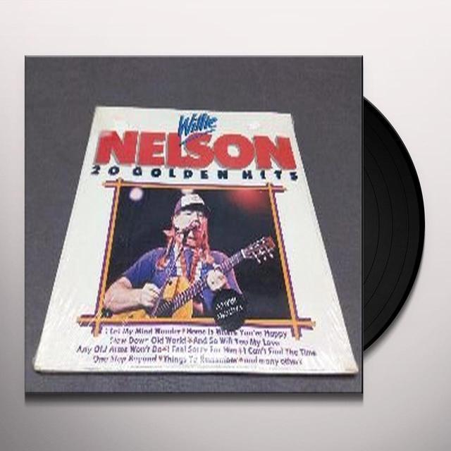 Willie Nelson 20 GOLDEN HITS Vinyl Record