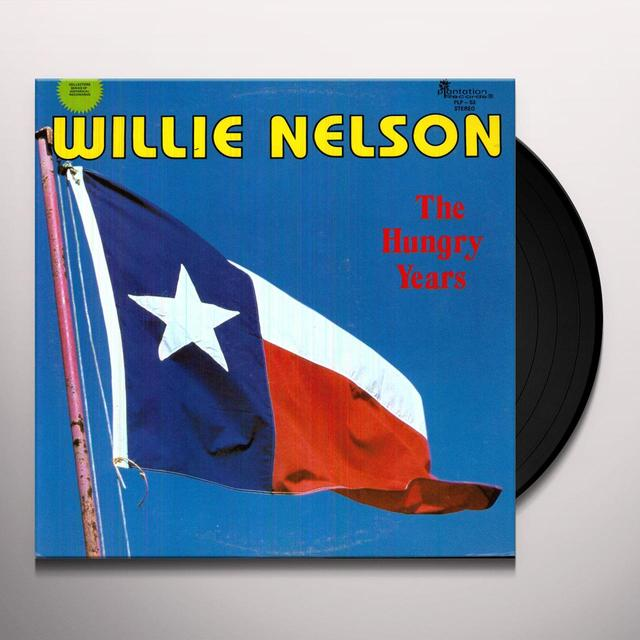 Willie Nelson HUNGRY YEARS Vinyl Record