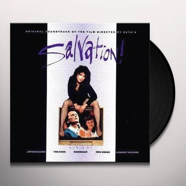 New Order / Cabaret Voltaire SALVATION SOUNDTRACK Vinyl Record