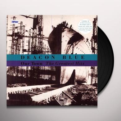 Deacon Blue OUR TOWN THE GREATEST HITS Vinyl Record