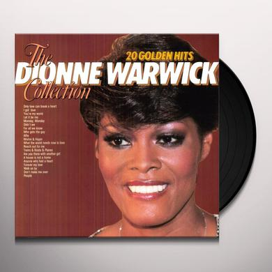 Dione Warwick 20 GOLDEN HITS Vinyl Record