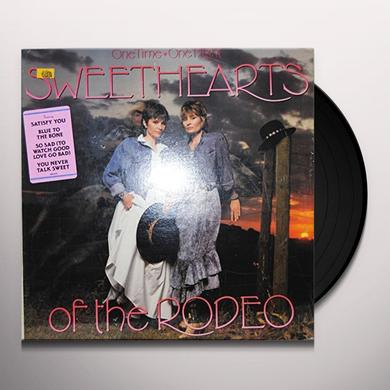 Sweethearts Of The Rodeo ONE TIME ONE NIGHT Vinyl Record