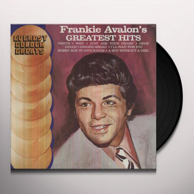 Frankie Avalon GREATEST HITS Vinyl Record
