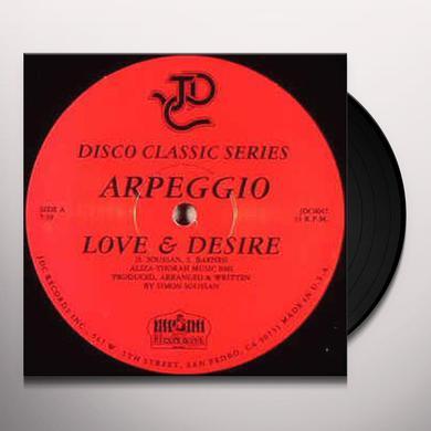 Arpeggio LOVE & DESIRE / FRENCH KISS PA Vinyl Record