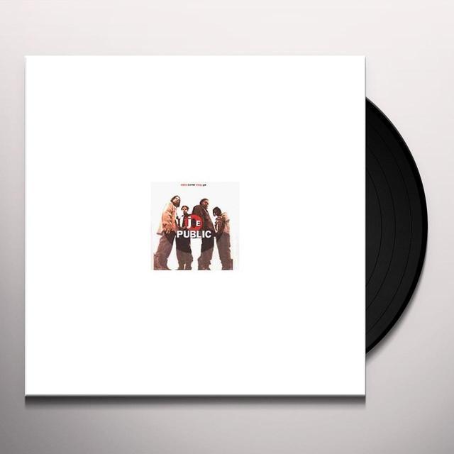 Joe Public EASY COME EASY GO Vinyl Record