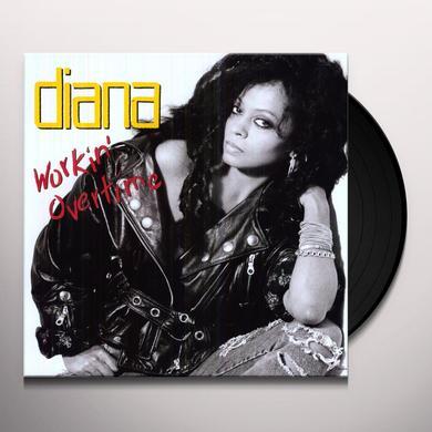 Diana Ross WORKIN OVERTIME Vinyl Record