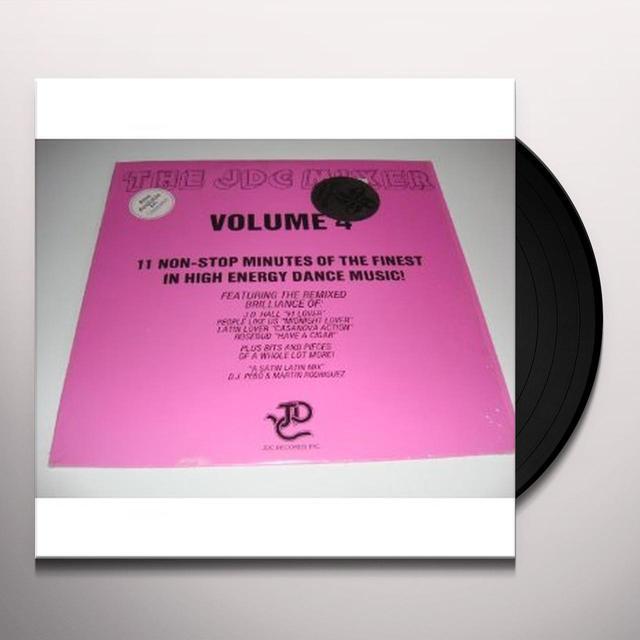JDC MIXER 4 / VARIOUS Vinyl Record