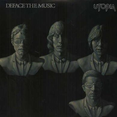 Utopia DEFACE THE MUSIC Vinyl Record