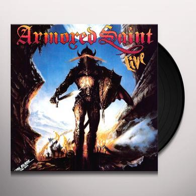 Armored Saint SAINTS WILL CONQUER (LIVE) Vinyl Record