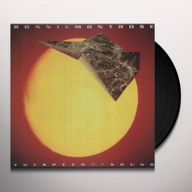 Ronnie Montrose SPEED OF SOUND Vinyl Record
