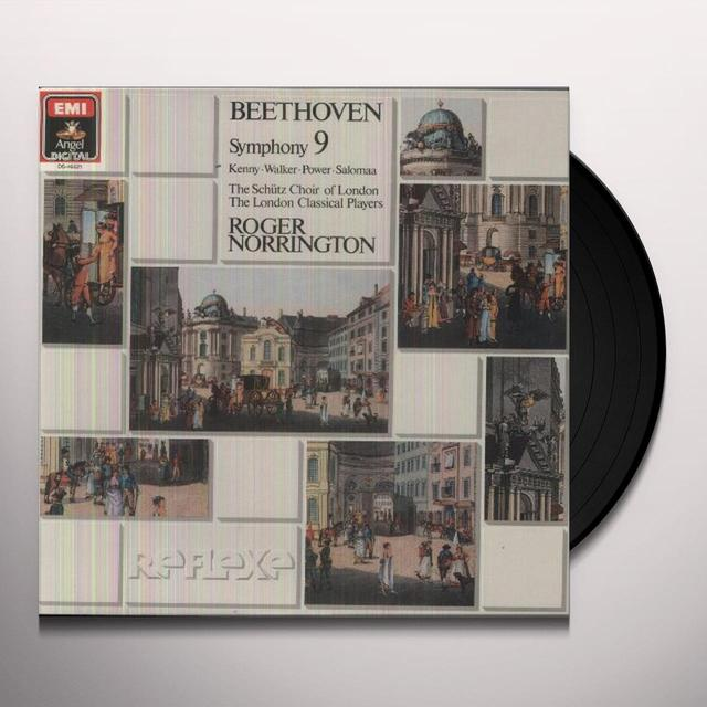 Beethoven / Norrington BEETHOVEN: SYMPHONY NO.9 Vinyl Record