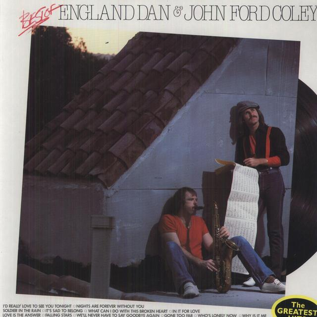 England Dan & John Ford Coley BEST OF Vinyl Record
