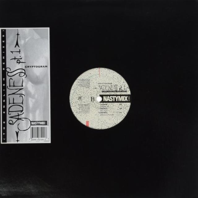 Cryptogram SADENESS (ENGLISH REMIXES) Vinyl Record