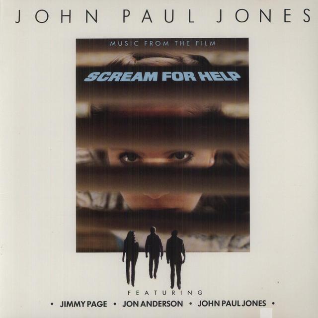 John Paul Jones SCREAM FOR HELP Vinyl Record