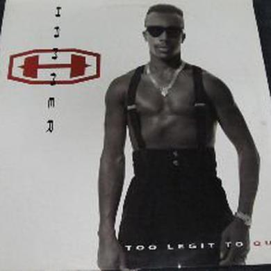 Mc Hammer TOO LEGIT TO QUIT Vinyl Record