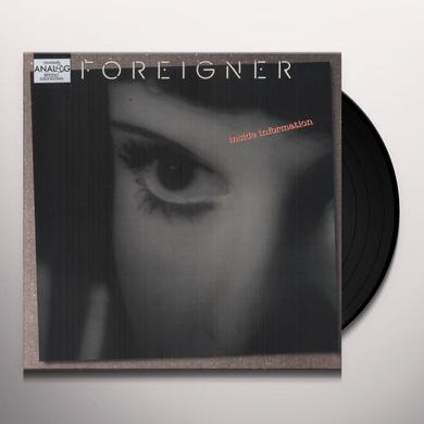 Foreigner INSIDE INFORMATION Vinyl Record