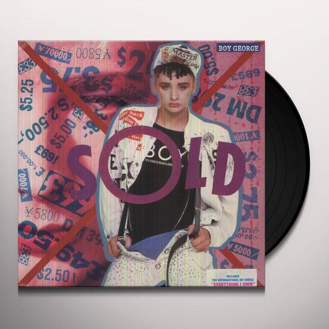 Boy George SOLD (EVERYTHING I OWN) Vinyl Record
