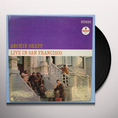 Archie Shepp LIVE IN SAN FRANCISCO Vinyl Record