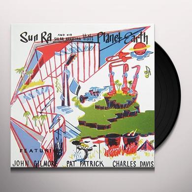 VISITS PLANET EARTH Vinyl Record