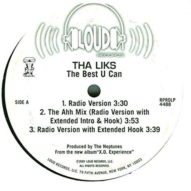 Tha Liks BEST U CAN Vinyl Record