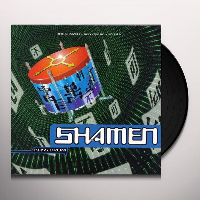 Shamen BOSS DRUM: DIRECT METAL MASTER Vinyl Record