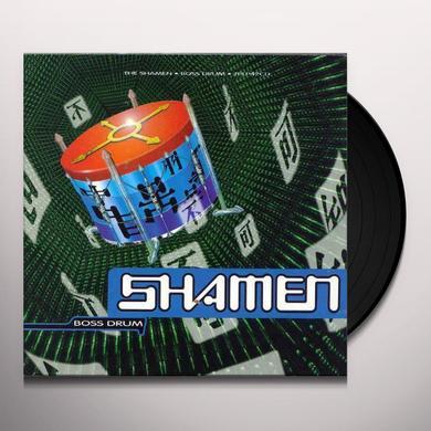 Shamen BOSS DRUM: DIRECT METAL MASTER Vinyl Record